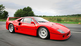 The Ferrari F40 is agreed to be Enzo Ferrari's greatest achievement.