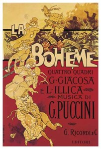 La Boheme has been a favorite since its first performance in 1896.