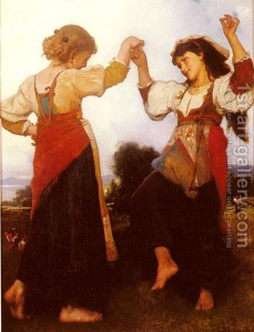The Tarantella is a standard dance in Italian folklore.