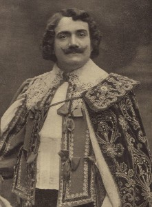 "Enrico Caruso as Lionel in the opera ""Martha"""